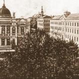 Budova gymnázia z 20. let 20. století - (První československá republika)