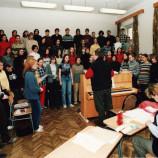 Zkouška sboru na MGO