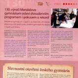 130 výročí školy, Hláska, březen 2014