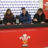 Millenium Stadium Cardiff - tisková konference