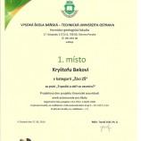 Diplom Kryštof Bek