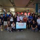 Pozdravy našich atletů  z Číny