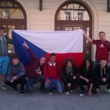 Pozdravy našich atletů  z Opavy-východ