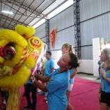Ukázka lvího tance