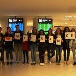 Přivítání na letišti