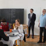 Zahájení soutěže, pan primátor a ředitel MGO