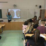 Mgr Hanzlíková a její první anglická hodina