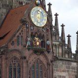 Karel IV. v orloji v Norimberku