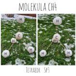 molekula CH4